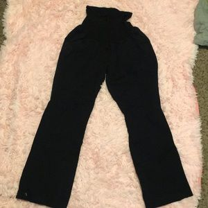 Xl black maternity pants